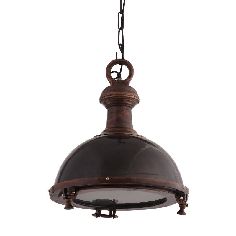 Alu Black Lamp hanging with iron M