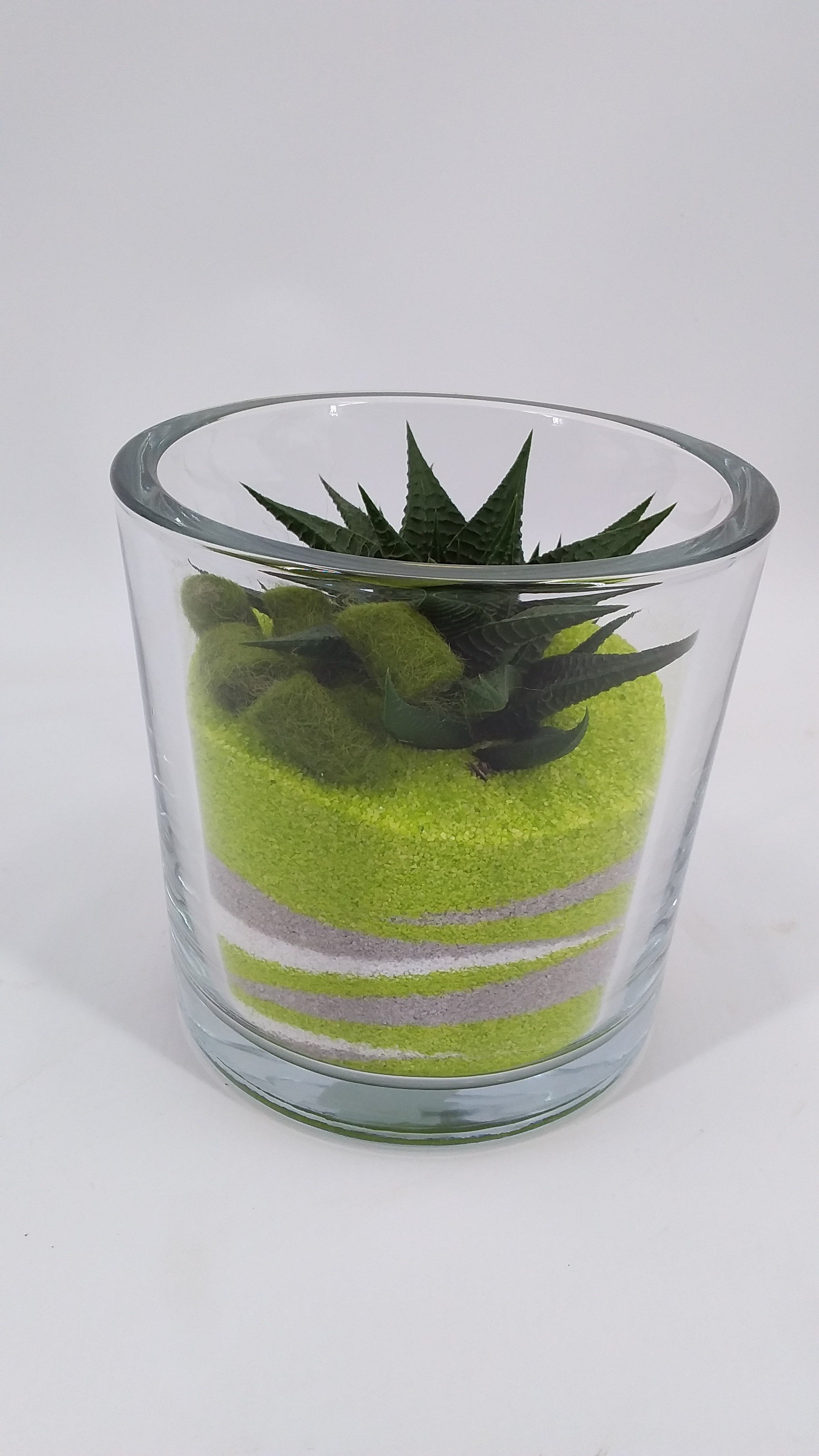 Zandpotje groen