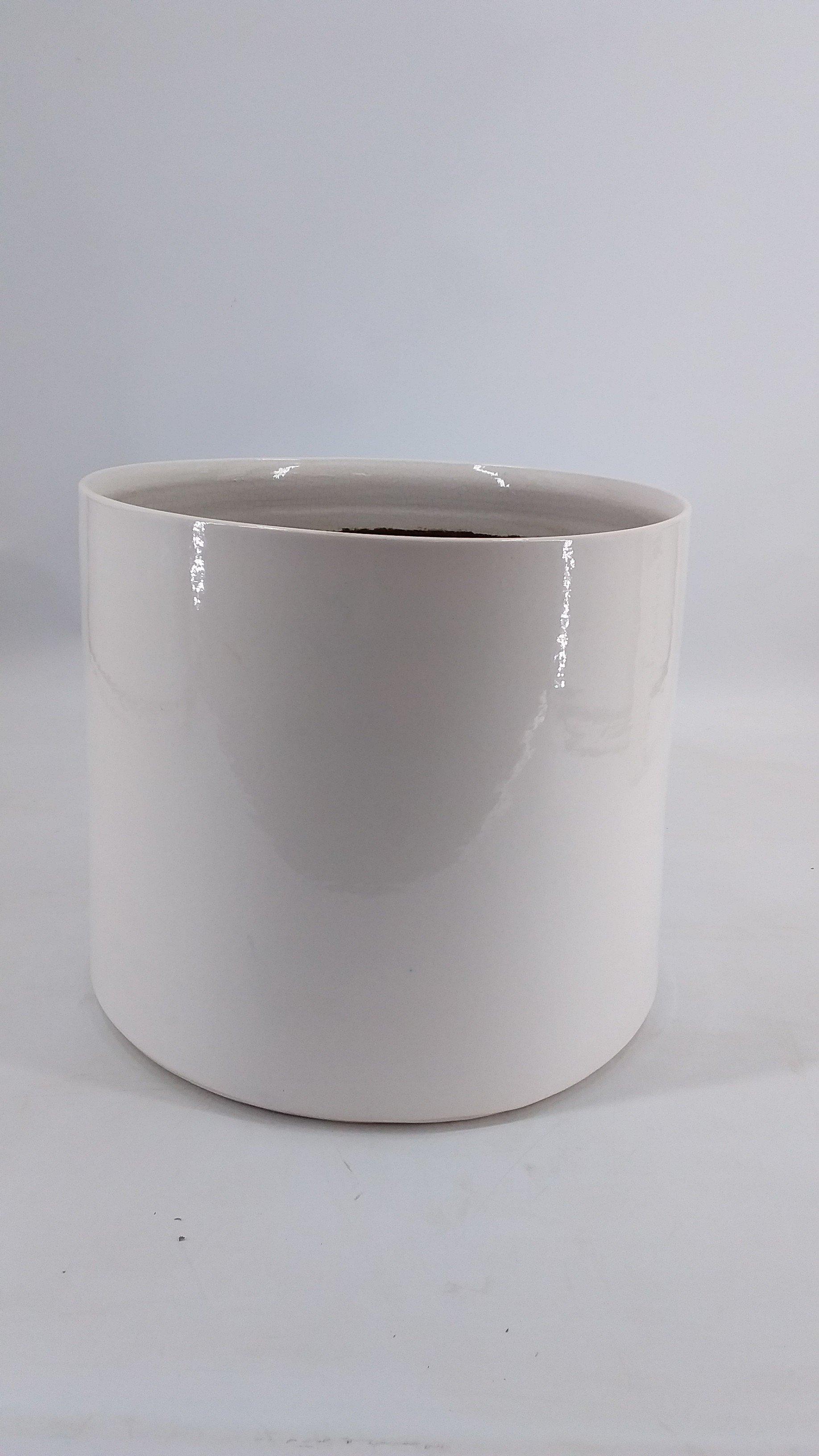 White stone pot XL