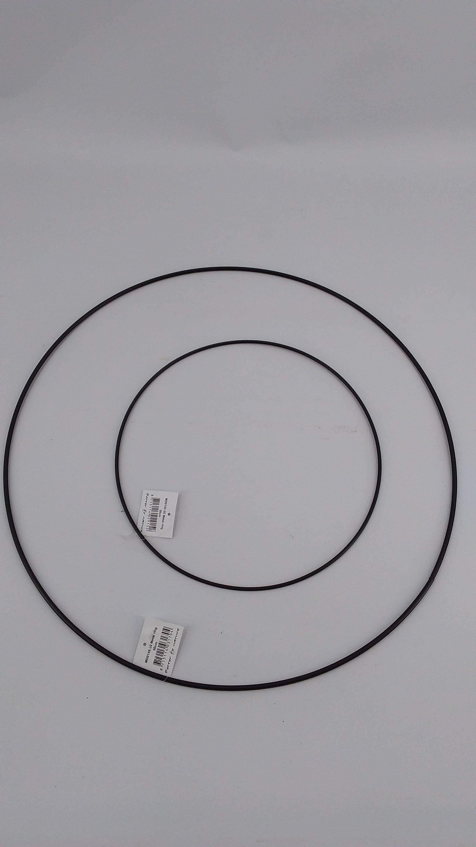 Ring 50cm zwart
