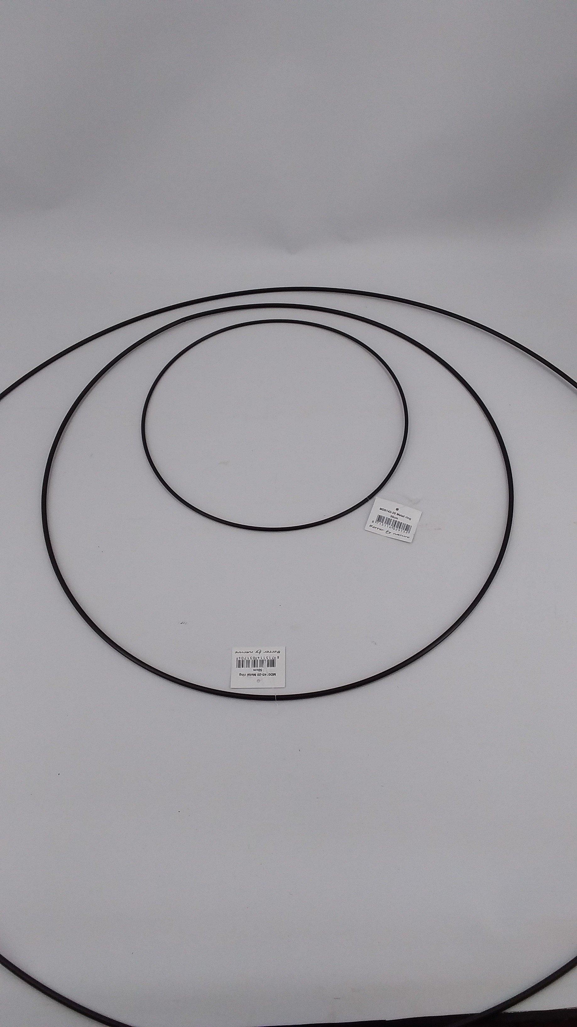 Ring 80cm zwart