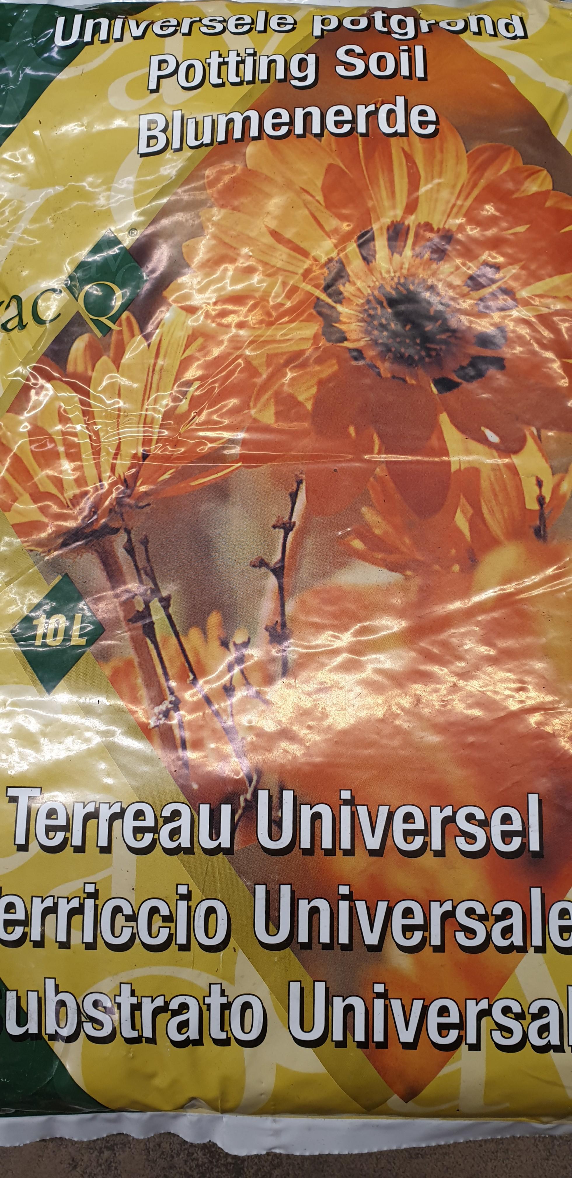 Potgrond universeel 10l